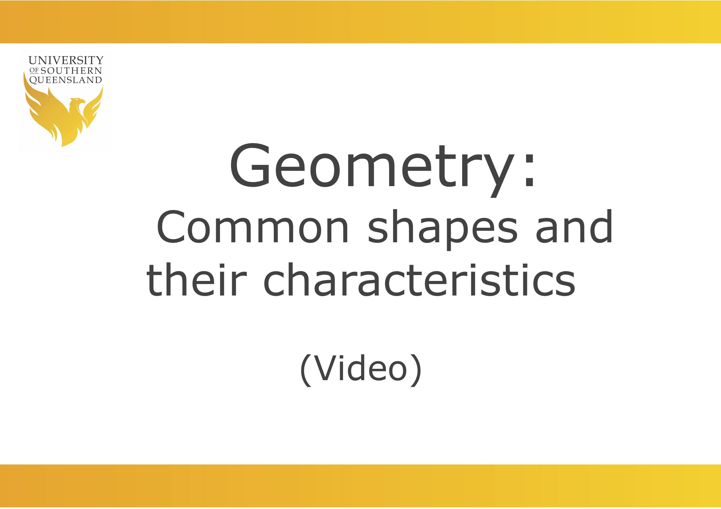 Image for Geometry video