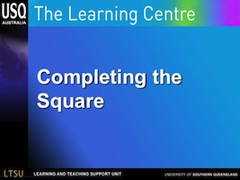 completing the square image