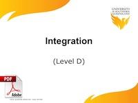 D6-integration