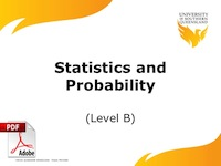 statisitics and probability