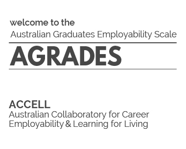 Welcome to the Australian Graduates Employability Scale (AGRADES)