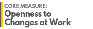 AGRADES Core Measure : Openness to changes at Work