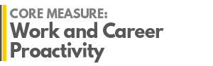 AGRADES Core Measure : Work and Career Proactivity