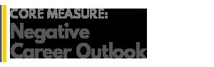 AGRADES Core Measure : Negative Career Outlook