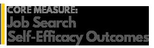 AGRADES Core Measure : Job Search Self-Efficacy Outcomes
